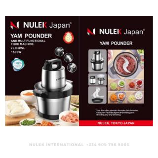Nulek 7 Liters Yam & Fufu Pounder