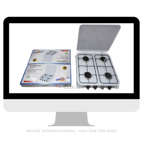Nulek 4Burner Table Gas Cooker - Model NKG-0804B